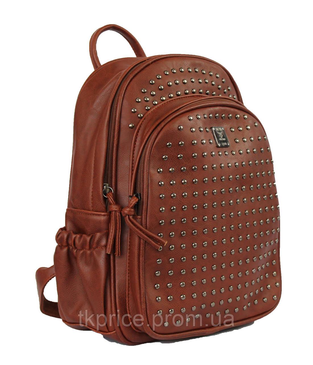 Рюкзак с шипами искусственная кожа