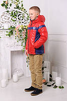 Куртка демисезон для мальчика спортивного стиля