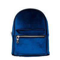 Рюкзак Pull and Bear - Mini Blue velvet