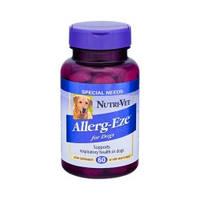 Добавка для собак при аллергии, Nutri-Vet НУТРИ-ВЕТ ДЛЯ АЛЛЕРГИКОВ, жевательные таблетки, 60 табл.