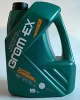 "Масло 10w40 Super Diesel+  1л, ""GROM-EX"""
