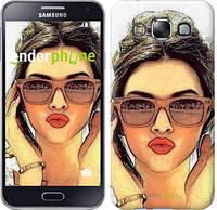 """Чехол на Samsung Galaxy E5 E500H Девушка_арт """"3005c-82"""""""