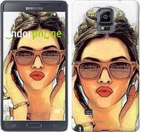 "Чехол на Samsung Galaxy Note 4 N910H Девушка_арт ""3005c-64"""