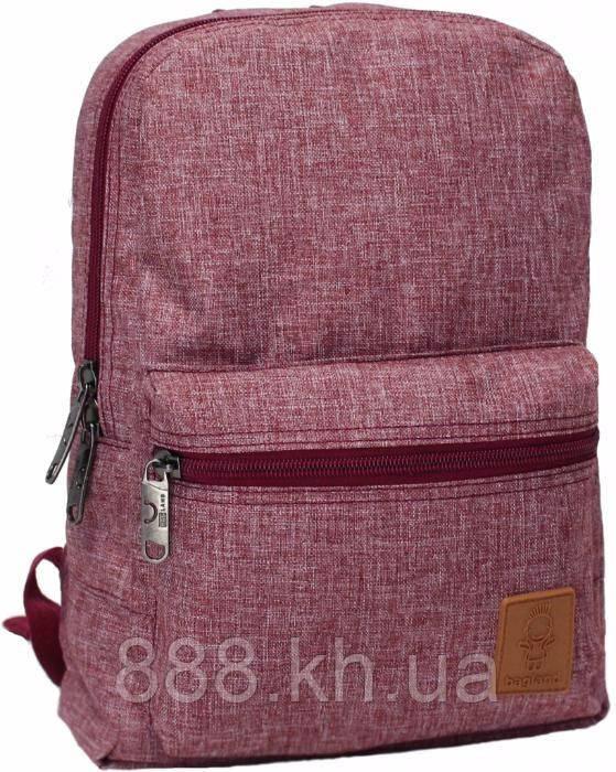 Городской рюкзак BagLand, школьный портфель, прочный и стильный рюкзак красный