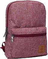 Городской рюкзак BagLand, школьный портфель, прочный и стильный рюкзак красный, фото 1