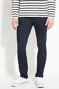 Джинси Forever 21 Man - Classic Skinny Navy (мужские джинсы синего цвета)