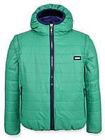 Детская демисезонная куртка-жилетка на подростка, мята, р.146