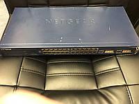 NETGEAR FSM726   24порта 100мбит + 2порта 1000мбит