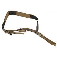 Шквал ремень оружейный 1-точечный койот