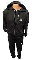 Костюм спорт мужской Adidas с капюшоном манжет (деми)