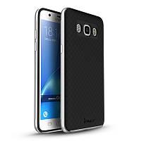 Чехол Ipaky для Samsung J5 2016 J510 J510H бампер оригинальный silver