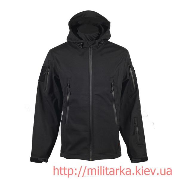 Куртка Softshell Chameleon с капюшоном black