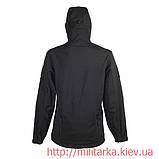 Куртка Softshell Chameleon с капюшоном black, фото 3