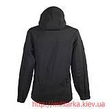 Куртка Softshell Chameleon с капюшоном black, фото 5