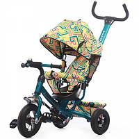 Детский трехколесный велосипед TILLY Trike c надувными колесами