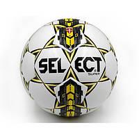 Мяч футбольный №4 SELECT SUPER(WY) Club matches and training (FPUG 1200, бел-син-жел)