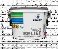 Структурная краска на акрилатной основе Kolorit Facade Relief 9л