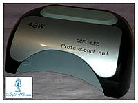 УФ Лампа для сушки ногтей professional led+ccfl light 48w черная