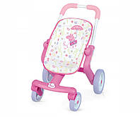 Прогулочная Коляска Свинка Пепа для куклы Baby Nurse SMOBY 251206