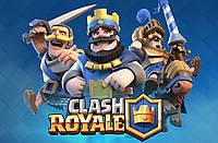 "Картинка вафельная А4 "" Clash Royal"""