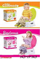 Детский горшок 3 в 1: подставка, горшок и сиденье на унитаз @ Дитячий горщик 3 в 1: підставка, горщик і сидіння на унітаз