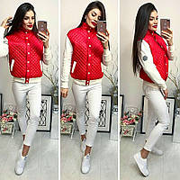 Куртка женская, модель 773, красная, фото 1