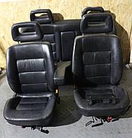 Кожаный салон седан, сидения с подогревом Audi 100 A6 C4 91-97г