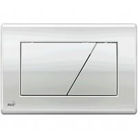 Кнопка управления хром-блестящая 590x390x240, M171, Alcaplast (Чехия)