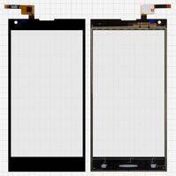 Сенсорный экран для мобильного телефона Doogee DG550, черный, #FPC55312A0-V2