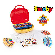 Чемоданчик Маленький художник Пожарный Сэм Smoby 410805