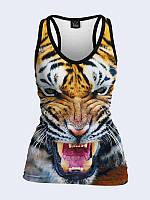 Майка-борцовка Рычащий тигр