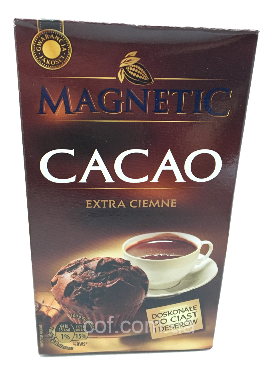 Какао Magnetic Cacao Extra Ciemne (Польша)