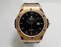 Часы мужские Hublot, наручные часы хублот зол/черный