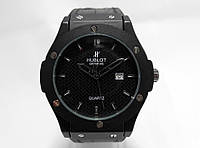 Часы мужские Hublot, наручные часы хублот черный