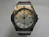 Часы мужские Hublot, наручные часы хублот метал/белый