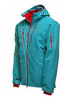 Куртка горнолыжная мужская бирюзового цвета  Envy Grandy в размере XXL