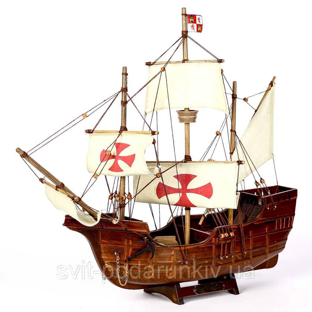 Модель корабля Колумба Santa Maria 45 см 518-45