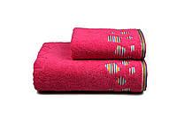 Полотенце махровое Rainbow 50х90 розовое 480 г/м²