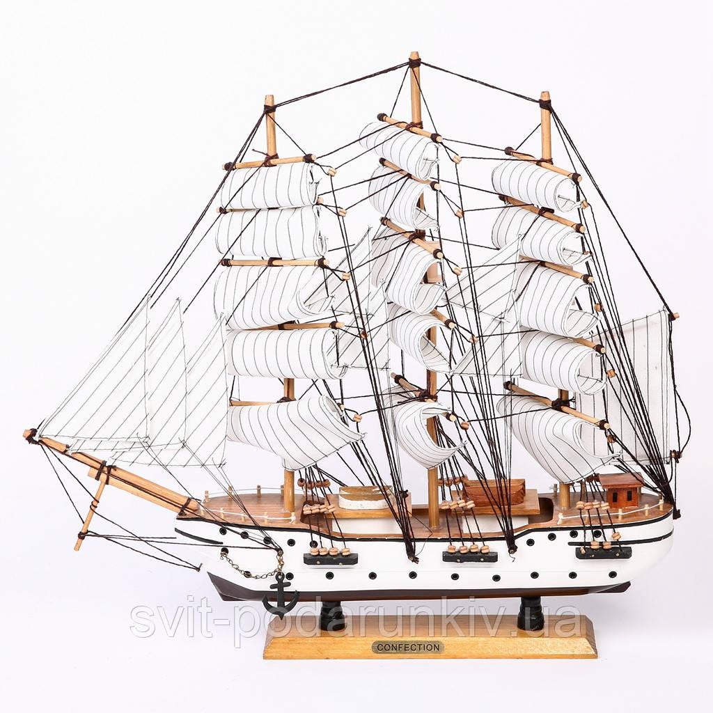 Модель корабля парусник 50 см 2471