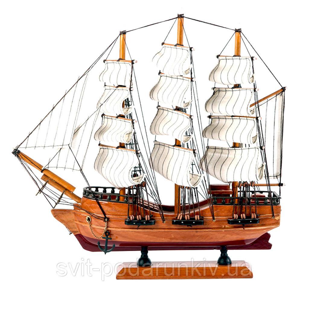 Модель корабля деревянная 34 см SH501G
