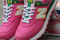 Женские New Balance светло-розовые
