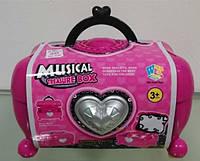 Музыкальная шкатулка-чемоданчик  для маленькой Принцессы, WY321-1-1