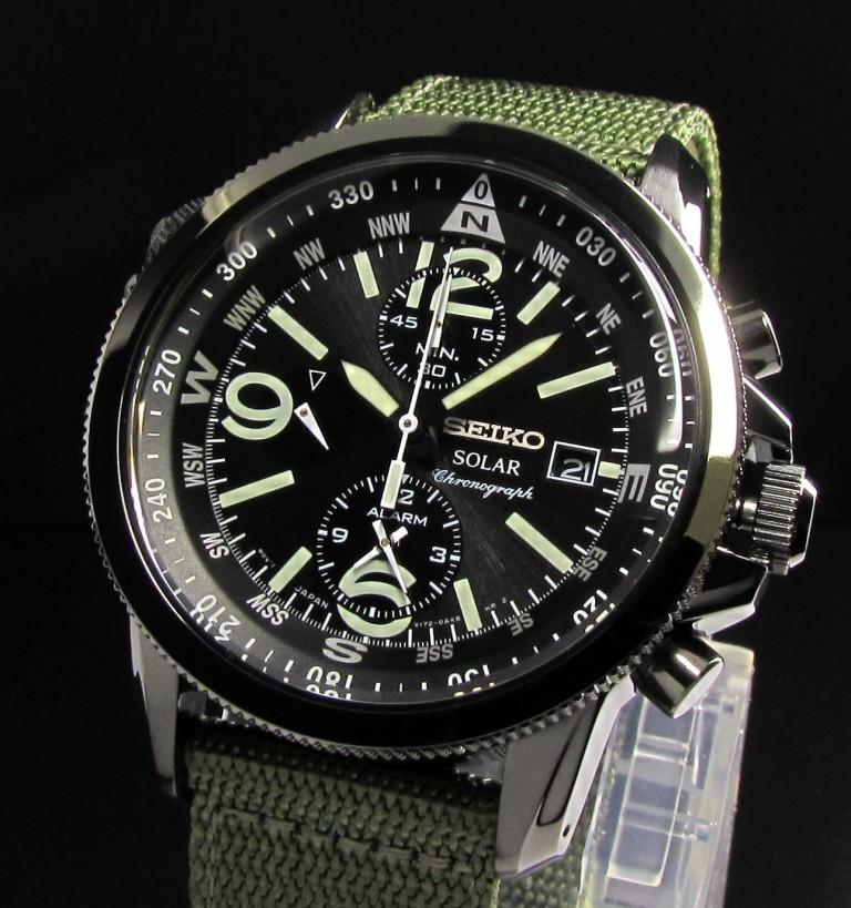 Часы Seiko SSC137P1 хронограф SOLAR