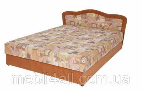 Двуспальная кровать на пружинном блоке Лира