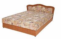Двуспальная кровать на пружинном блоке Лира, фото 1