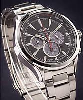 Часы Seiko SSC493P1 хронограф SOLAR V175 , фото 1