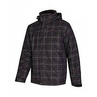 Куртка горнолыжная мужская темно серого цвета  Envy Gunnedah III в размере XXL