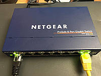Netgear gs108 v3     8портов 1000mbit