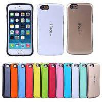 Защитный чехол iFace для мобильных телефонов Apple iPhone 5, iPhone 5S, iPhone SE, голубой, ударопрочный