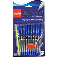 Ручка масляная MAXRITER Cello синяя